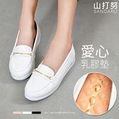 懶人鞋 金線素面樂福鞋- 山打努SANDARU【101A778、107B778#46】