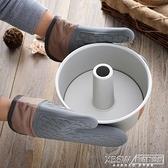 廚房家用微波爐隔熱手套烘焙硅膠防燙烤箱加厚耐高溫專用手套1對『新佰數位屋』