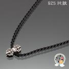 金剛杵(925銀) 項鍊 +平安小佛卡【十方佛教文物】