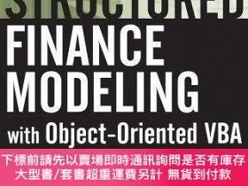 二手書博民逛書店【罕見】Structured Finance Modeling With Object-oriented Vba奇