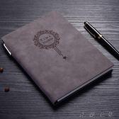 【618好康又一發】a5復古皮面筆記本文具日記本