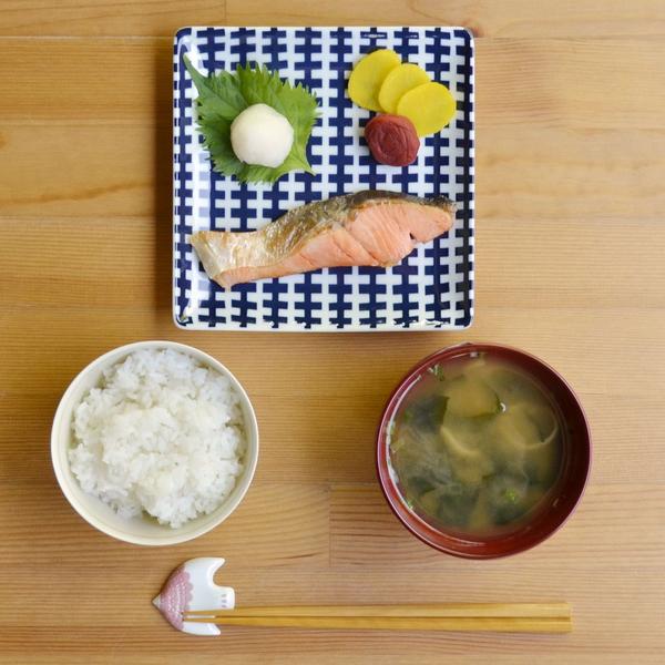 Natural69 波佐見燒 Swatch系列 方形淺盤 陶瓷盤 菜盤 沙拉盤 水果盤 17cm 塗鴉 日本製