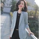 簡約雜誌風五分袖西裝領長版外套[20S98-PF]美之札
