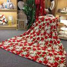 法蘭絨毛毯 兒童沙發毯 聖誕圖案款 【藍星居家】