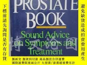 二手書博民逛書店The罕見Prostate Book:Sound Advice