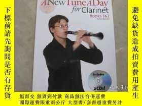 二手書博民逛書店A罕見New Tune A Day Clarinet: Book