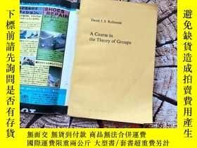 二手書博民逛書店英文原版書:A罕見Course in the Theory of Groups 群論教程Y10323 Dere