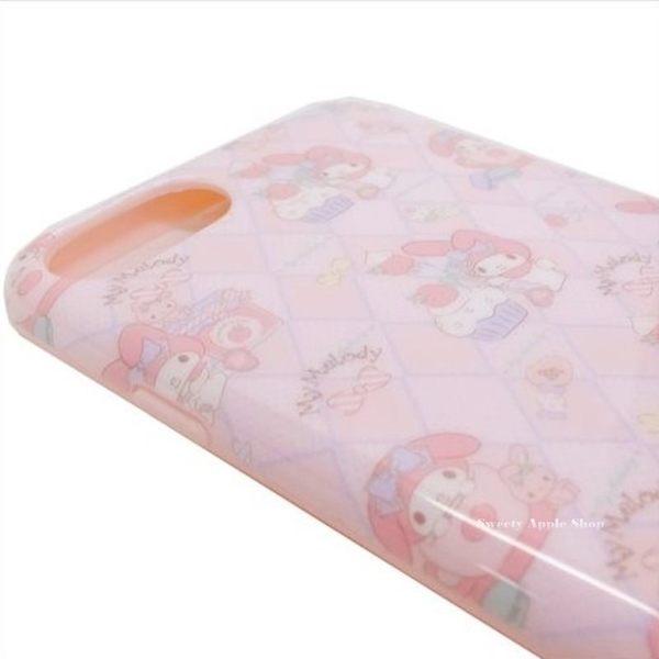日本正版限定 美樂蒂 甜點風 菱紋 IPHONE8 / IPHONE 7S / IPHONE 7 / IPHONE6S / IPHONE6  手機保護殼套