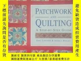 二手書博民逛書店Patchwork罕見and Quilting 拼花絎縫.Y19