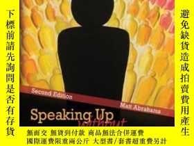 二手書博民逛書店Speaking罕見UpY256260 Abrahams Kendall hunt Publishing Co