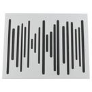 葡萄牙 Vicoustic Wavewood 全功能調音板 中高頻 吸音棉 白色 可放斜角當低頻陷阱 NRC 0.75 595 x 595 x 60 mm