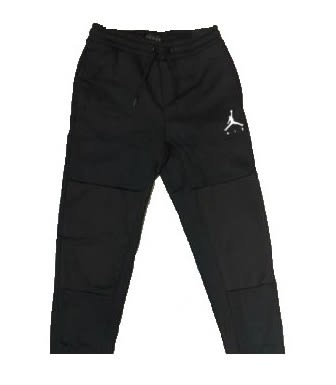 NIKE JUMPMAN AIR GFX FLEECE PANT 男款黑色喬丹棉褲-NO.AA1448010