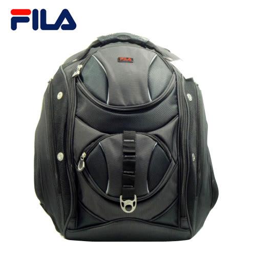 大出清【FILA】時尚休閒筆電背包 FA-145(黑)