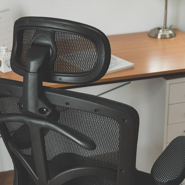 扶手可調 電腦椅 辦公椅 書桌椅 椅子【T0094】Camilla氣墊腰靠透氣網椅 MIT台灣製 收納專科