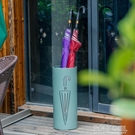 漫麗莎北歐創意金屬雨傘架家用門廳雨傘桶防水雨傘收納架激光雕刻  ATF  夏季新品