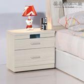 【德泰傢俱工廠】夏緹絲床頭櫃 A003-331-5