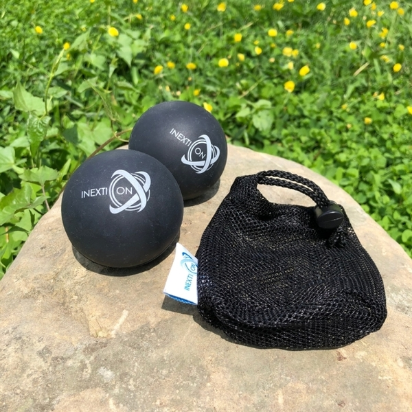 【INEXTION】Therapy Balls 筋膜按摩療癒球(2入) - 黑 台灣製
