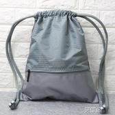 後背包 束口袋抽繩後背包男女通用戶外旅行背包防水輕便折疊運動健身包袋