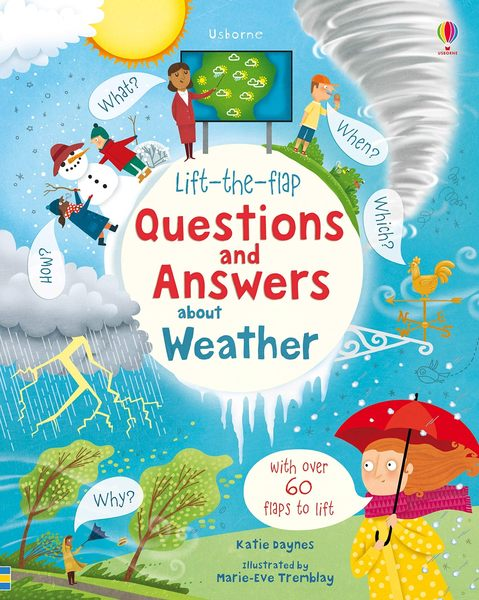 Lift-The-Flap Questions And Answers About Weather 天氣知識翻翻學習書