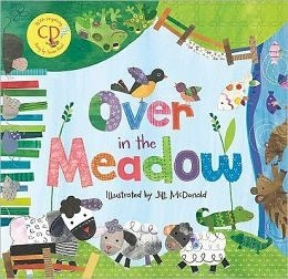 【麥克書店】OVER IN MEADOW /英文繪本附VCD