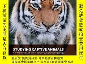 二手書博民逛書店Studying罕見Captive Animals: A Workbook Of Methods In Behav