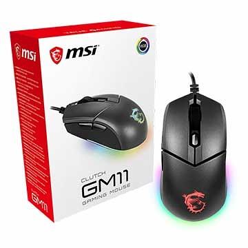 微星 MSI Clutch GM11 Mouse 5000 dpi光學傳感器