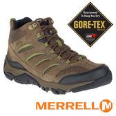 【MERRELL 美國】男 GORE-TEX中筒 多功能健行鞋『橄欖綠』 09553 機能鞋.多功能鞋.登山鞋