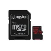 新風尚潮流 金士頓 記憶卡 【SDCR/64GB-2】 U3 極速卡 轉 MINI-SD 介面 64G