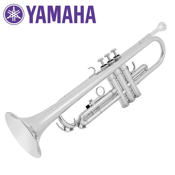 小叮噹的店 - Yamaha 公司貨 YTR2330SCN 鍍銀小號 Bb調 學生型 小喇叭 (YTR-2330)