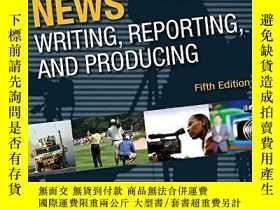 二手書博民逛書店Broadcast罕見News Writing, Reporting, And Producing, Fifth