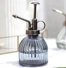 澆花噴霧器 澆水個性創意家用氣壓式噴霧器復古歐式南瓜玻璃水壺【快速出貨八折搶購】