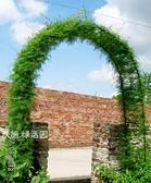 攀爬蔬菜拱門爬藤花架月季絲瓜黃瓜架葡萄藤蔓搭架家庭菜園用 LX 歐亞時尚