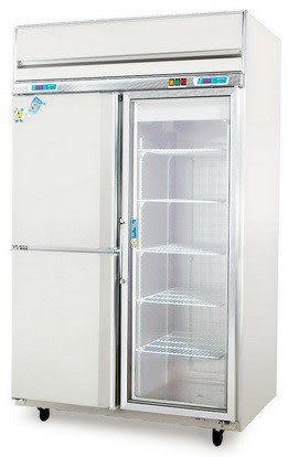 三門式 左冷凍右冷藏櫃【風冷無霜 冰櫃】型號:TC-550