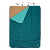 [KELTY] SHINDIG 雙人睡毯(153x203cm) - 寶石綠、峽谷棕 (35416017)