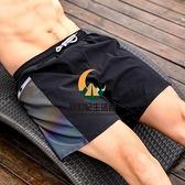 泳褲男防尷尬速干寬鬆大碼平角游泳褲男士泳衣海邊泡溫泉游泳裝備【創世紀生活館】