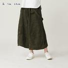 a la sha 可拆式吊帶造型低檔褲裙