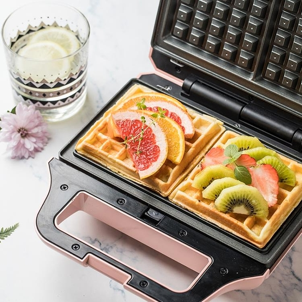 快速出貨 三明治機早餐機家用輕食機華夫餅機多功能加熱吐司壓烤面包機