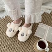 冬季棉拖鞋女厚底學生可愛卡通居家用室內保暖毛絨棉鞋月子鞋親子 - 古梵希