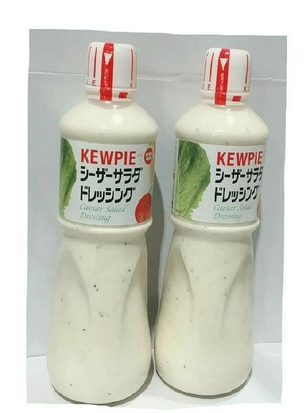 【 現貨 】KEWPIE WASABI DRESSING日本凱薩沙拉醬1公升*2入