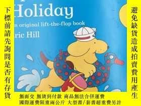 二手書博民逛書店Spot罕見Goes on Holiday 去度假Y19139