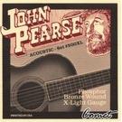 John Pearse 500XL 磷青銅弦 Phosphor Bronze Extra Light Strings (10-47)