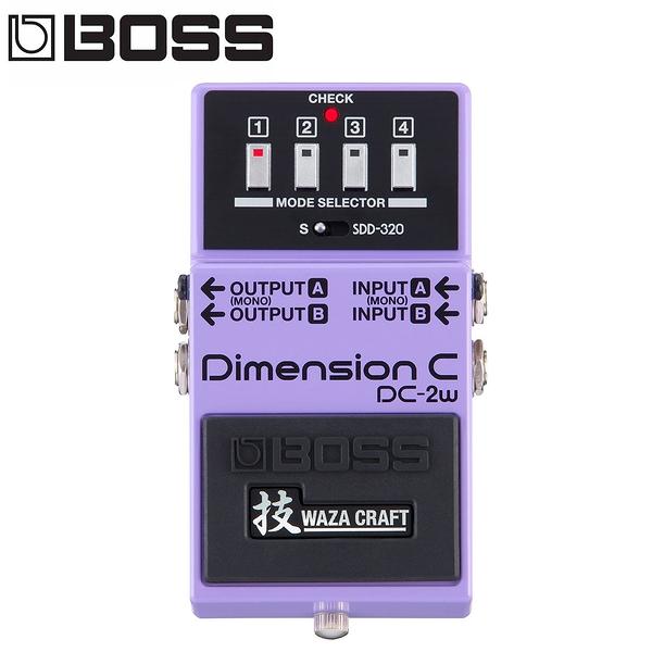 小叮噹的店-BOSS  DC-2W  Dimension C 效果器