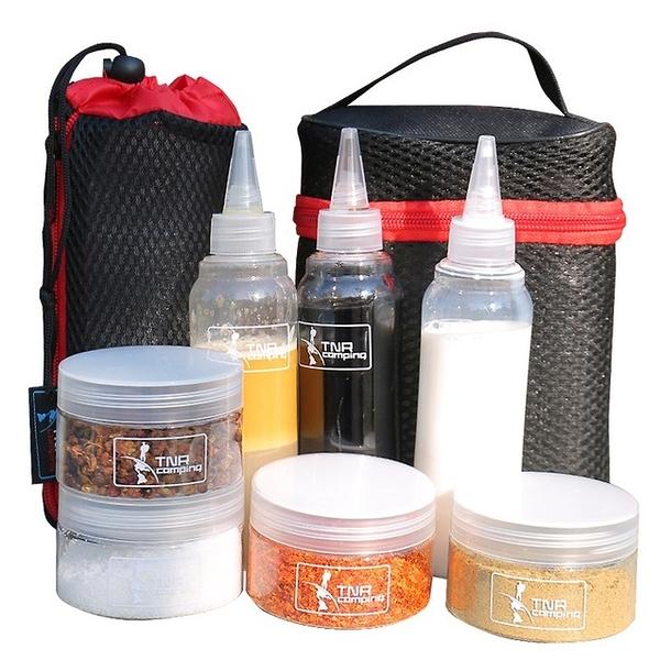 調味罐組 TNR調味組 附收納包 烹飪調味瓶 戶外調味瓶 調味罐 攜帶式調味罐【CP017】