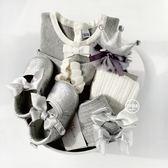 秋冬新生兒禮盒滿月禮物創意高檔衣服公主嬰兒用品大禮包棉質套裝 WY【全館89折低價促銷】
