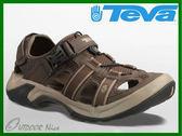╭OUTDOOR NICE╮美國TEVA OMNIUM 6148 TKCF 男款護趾水陸機能運動涼鞋 蜘蛛大底  防滑護趾