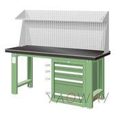 【耀偉】天鋼 單櫃型(鉗工)工作桌WAS-57042A3 含組裝(工作台,工業桌,機台桌)