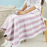 毯子小毛毯子蓋腿午睡毯空調毯辦公室單人午休小被子加厚冬季珊瑚絨毯