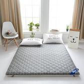 床墊 紫羅蘭全棉纖維榻榻米床墊防滑床墊1.5米加厚雙人1.8m床褥子6cm厚T 尾牙