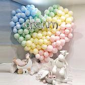 馬卡龍氣球婚慶用品結婚浪漫裝飾場景布置生日派對糖果色ins氣球 格蘭小舖