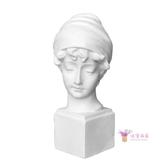 石膏像  英國少女雕像素描石膏頭像美術寫生教具靜物創意北歐家居裝飾擺件